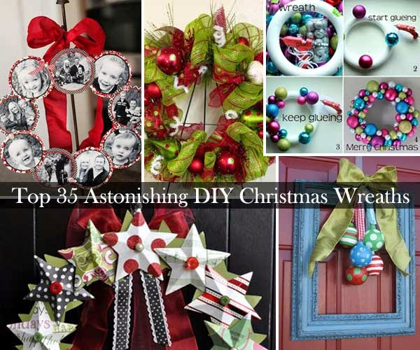 Top 35 Astonishing Diy Christmas Wreaths Ideas Diy Craft