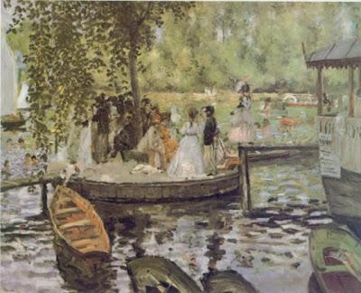 Renoir - La Grenouillère (1869) - National Museum Stockholm