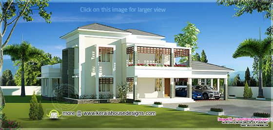 Double store villa view 1