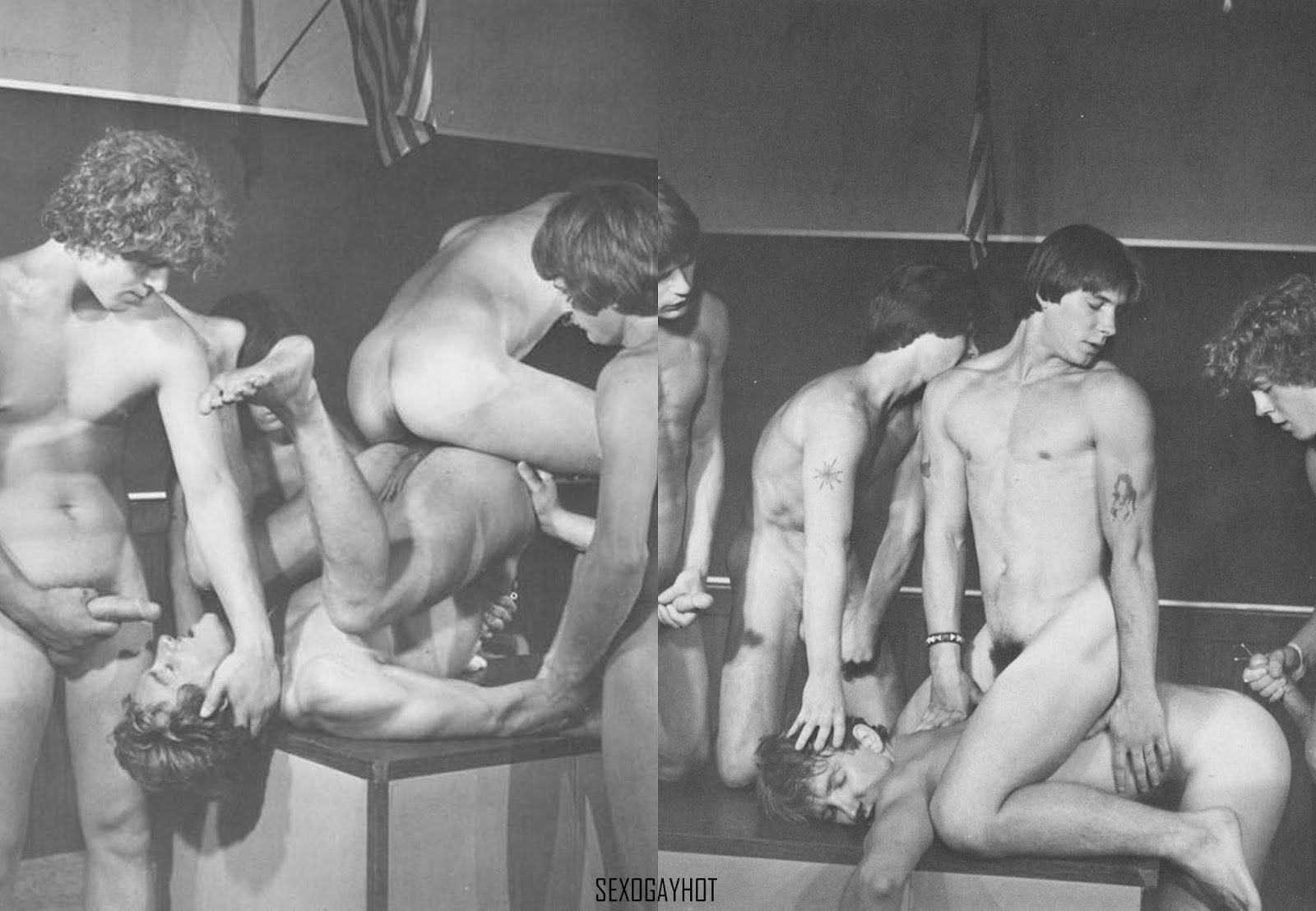 Порно Молодых Геев Винтаж