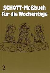 Schott-Messbuch für die Wochentage (2)