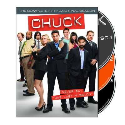 CHUCK Season 5 DVD Cover and Release Date!