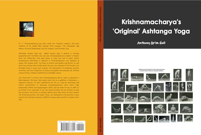Krishnamacharya's 'Original' Ashtanga Yoga Project