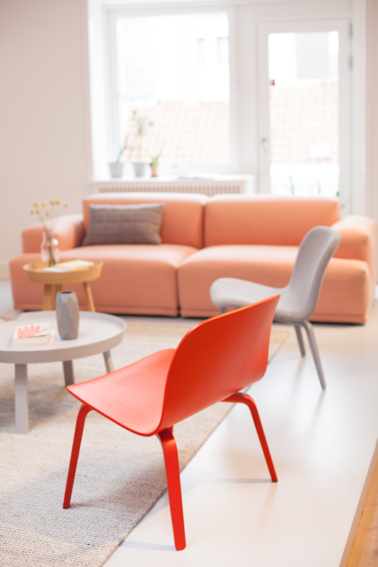 Inspiración: decorar con color coral
