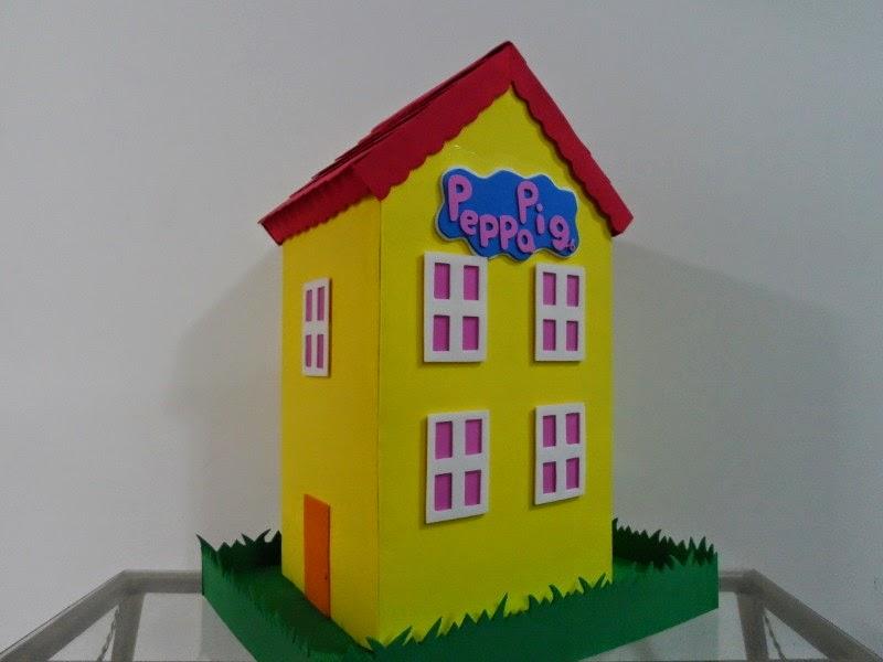 Arte y decoracion en goma eva peppa - Casa de goma eva ...