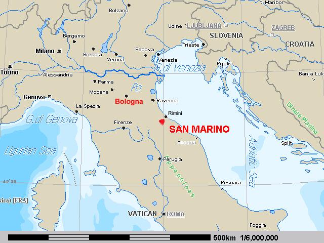 il nostro tempo in Italia The Republic of San Marino