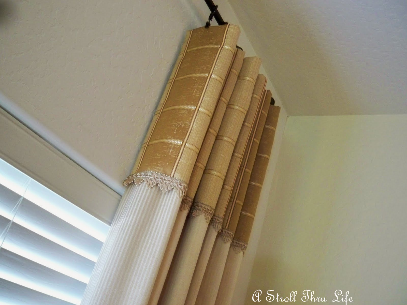 Hanging Drapes Prepossessing With Properly Hanging Drapes Images