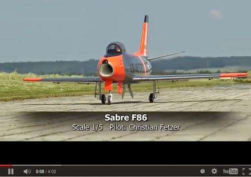 Sabre F-86 - R/C