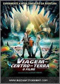Capa Baixar Filme Viagem ao Centro da Terra: O Filme Dublado   Torrent Baixaki Download