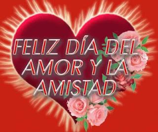 Feliz día del amor y la amistad amig@