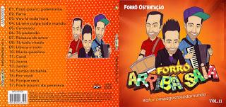CD Arriba Saia – Forró Ostentação – Vol.11