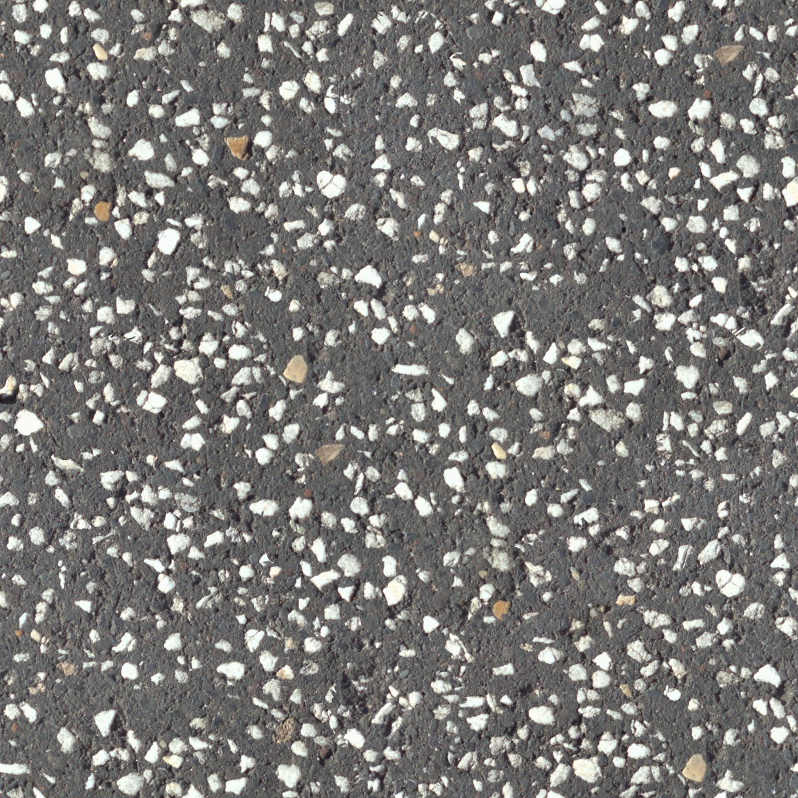 Concrete floor with white pebbles seamless texture 2048x2048