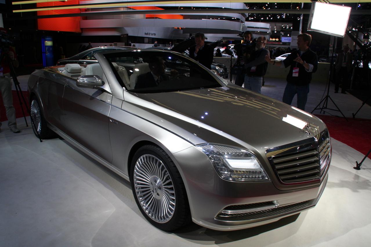 2007 mercedes benz concept ocean drive auto car reviews for Mercedes benz ocean drive