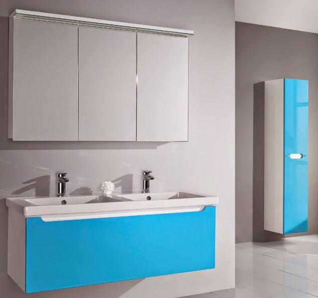 Коллекция мебели Dreja Color для ванной комнаты