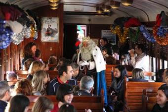 el tren de la navidad madrid: