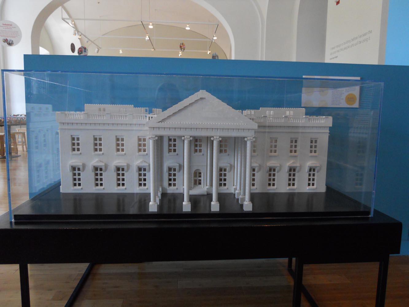 Building Museum Washington Dc Lego Exhibit