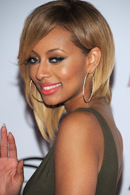 Keri Hilson Gold Hoop Earrings