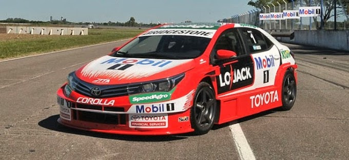 EL Toyota Team Argentina se prepara con todo