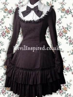 Black Gothic Classic Lolita Dress