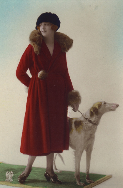 1920s Red #vintage #red #coat #1920s #fashion
