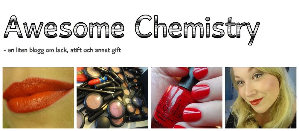 Awesome Chemistry - en liten blogg om lack, stift och annat gift