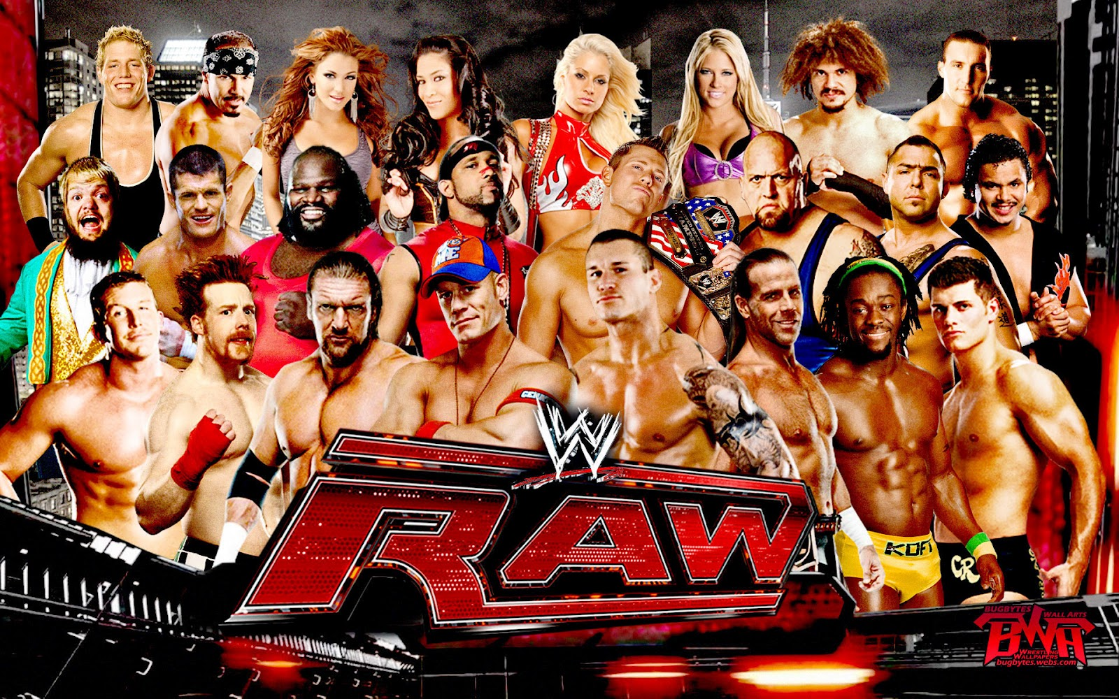 Wrestling Videos: WWE Raw - 4/30/2012 - 30th April 2012 - Download(MP4 ...