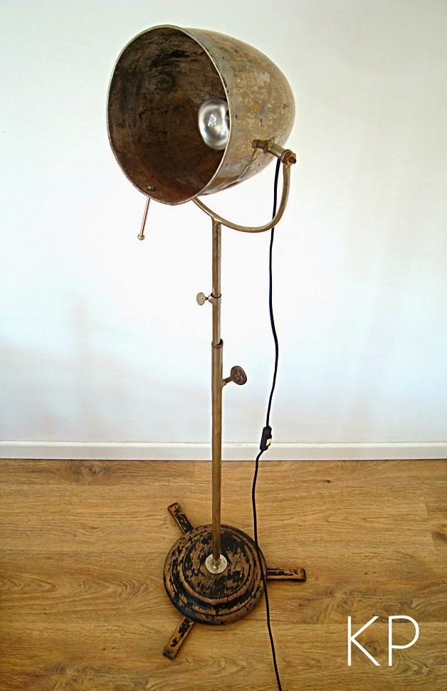 Kp tienda vintage online l mpara de pie antigua vintage standing lamp - Lampara de pie vintage ...