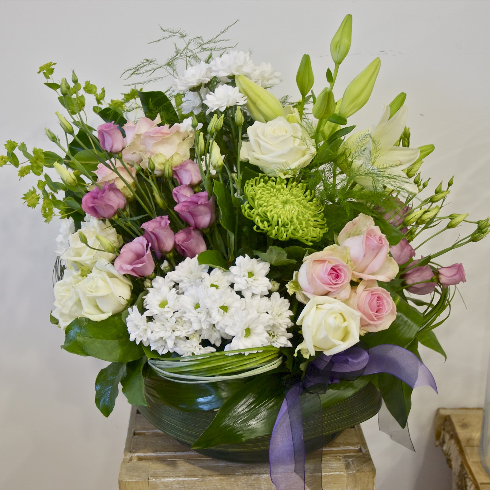for a person who loved flowers - Rose Garden Funeral Home