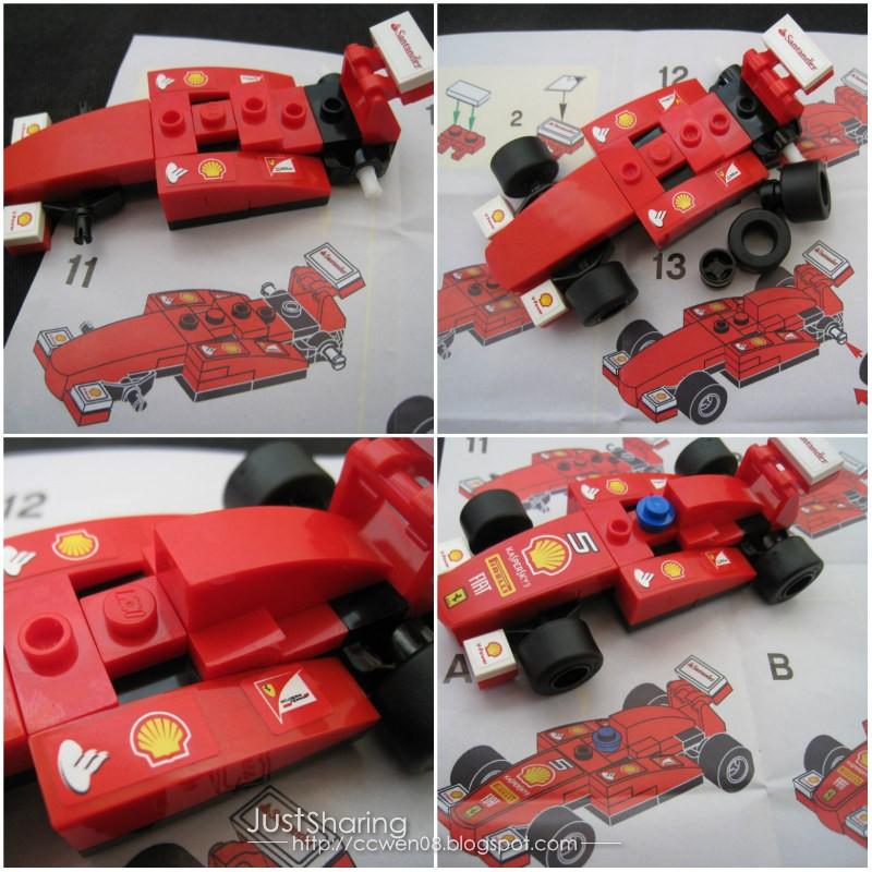 Just Sharing 文の分享站: Shell LEGO Ferrari Miniature - Ferrari 150 ...