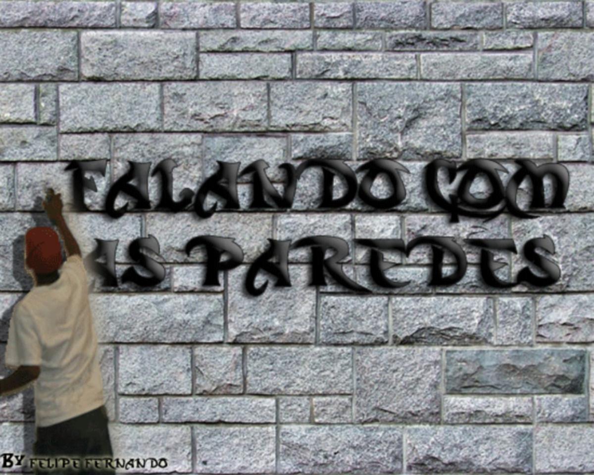 Falando com as paredes