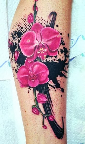 Tattoo Bunga Keren untuk Cewek