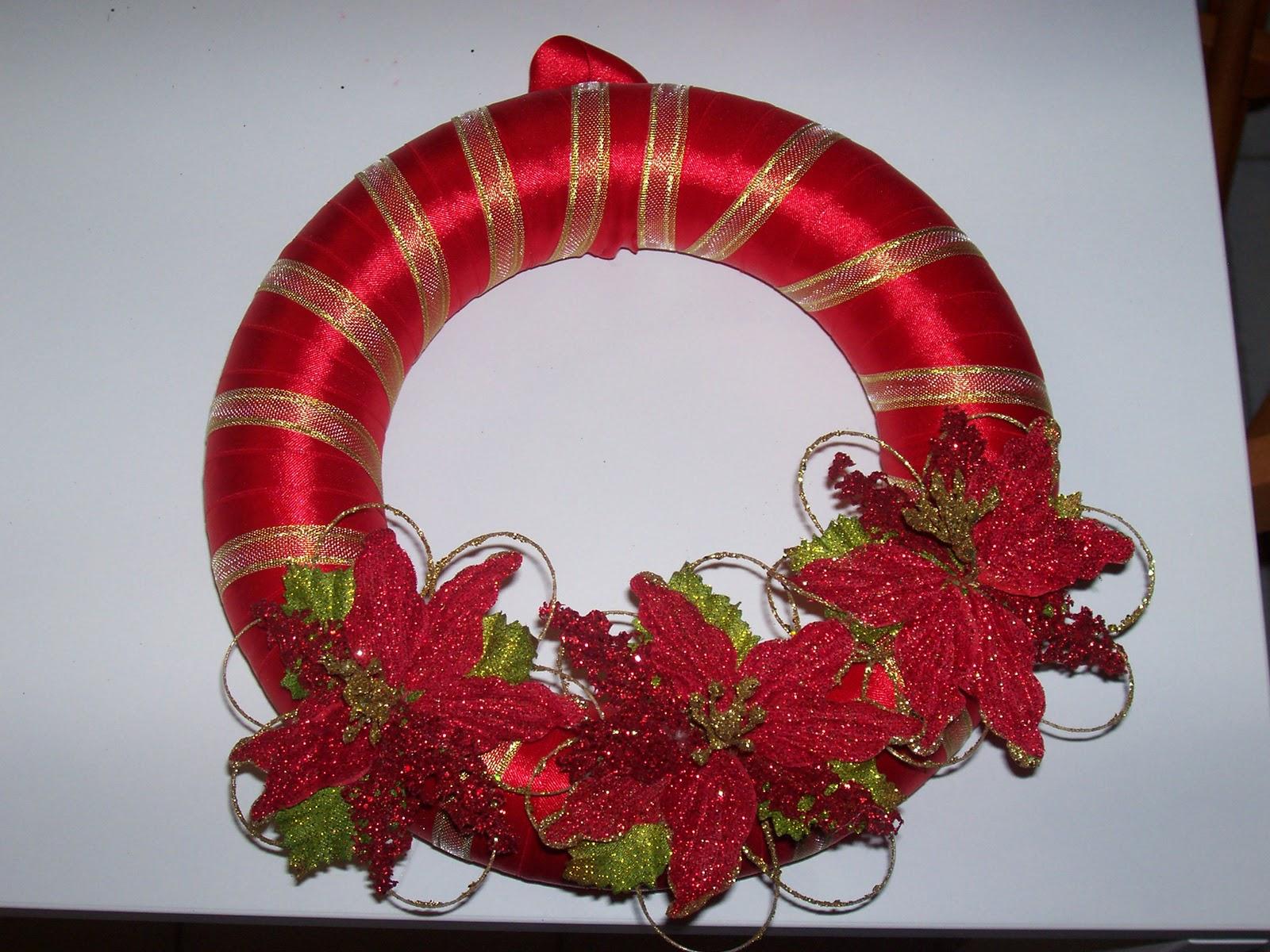 Mille idee ghirlande natalizie - Ghirlanda di natale per porta ...