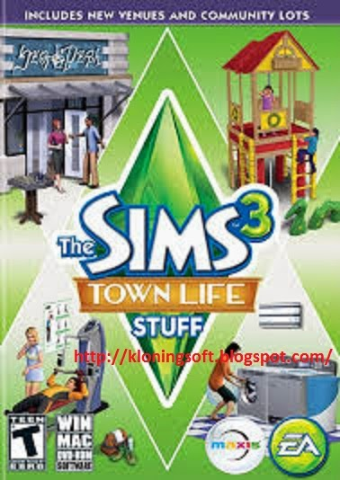 Free Download Games Sims 3 Town Life Stuff