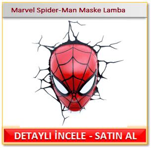 Marvel Spider-Man Maske Lamba