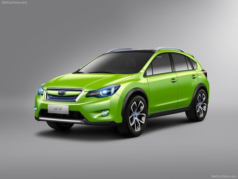 2012 New Subaru XV Concept