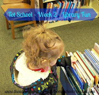 Tot School - Library Fun