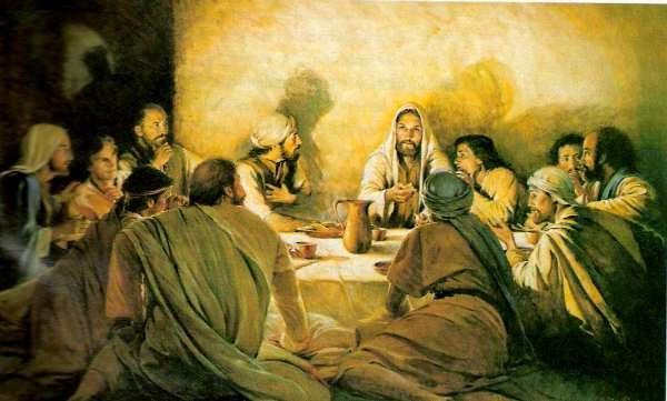 vida jesus nazareno desde cena pascual: