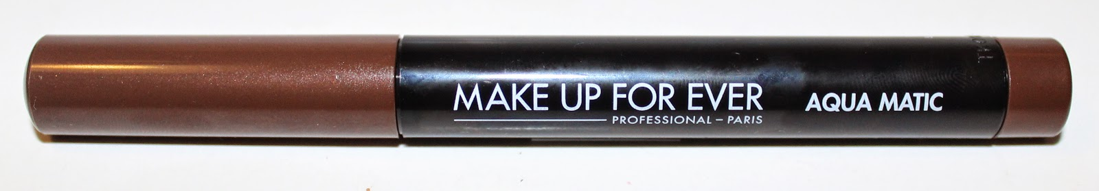 MAKE UP FOR EVER Aqua Matic #S-60 Satiny Warm Brown Review