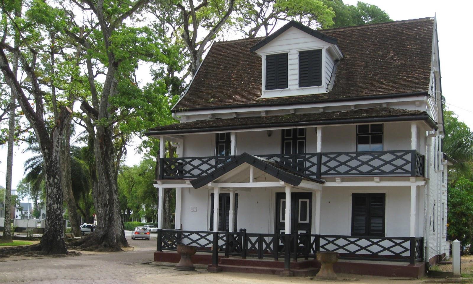 Novel Adventurers Colonial Dutch Architecture of Paramaribo