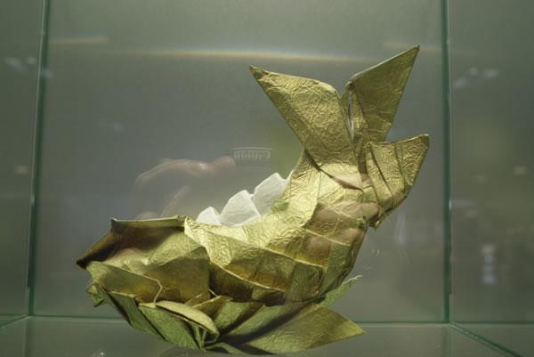 origami pesawat