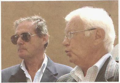 Il Pres. Sergio Tabanelli e il Segretario Vittorio Miletti dell'associazione A.N.V.G.D.