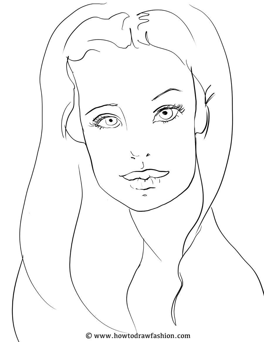 Away facial sketch program