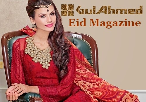 Gul Ahmed Eid Catalog 2014