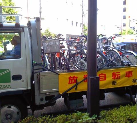Fukuoka Targets Illegally Parked Bicycles