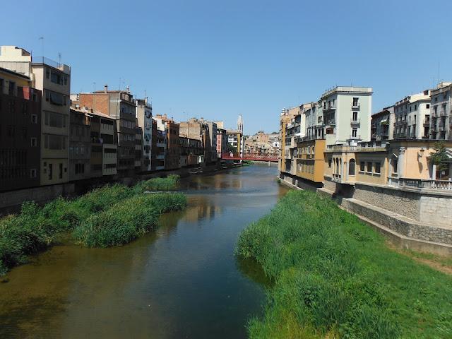Puentes sobre el río Onyar. Girona