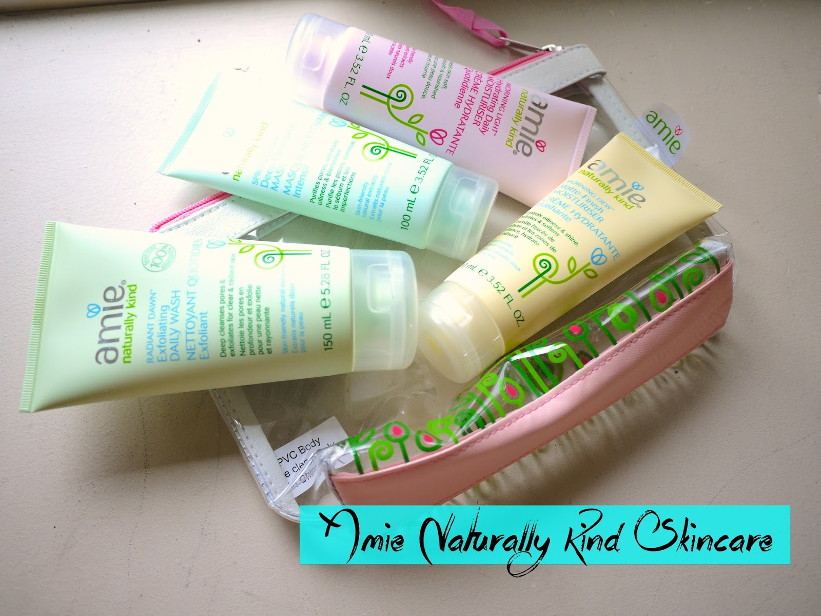 amie naturally kind skincare review