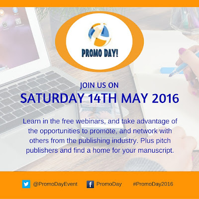 #PromoDay2016: Join us on Saturday 14th May! #BookMarketing #Free #Event