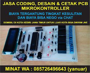 Jasa Coding, Desain dan Cetak PCB