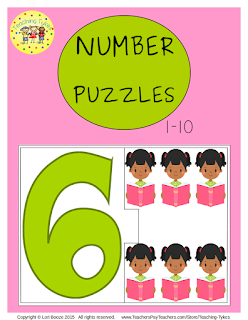 https://www.teacherspayteachers.com/Product/Numbers-1-10-Puzzles-2178351