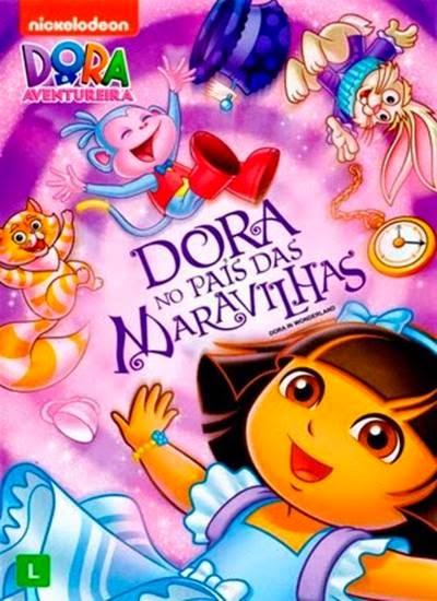 Dora a Aventureira Dora no Pais das Maravilhas AVI + RMVB DVDRip